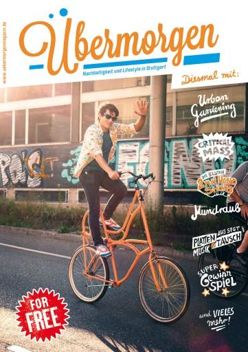 Kleon Medugorac Übermorgen #1 magazine text typography allgemein