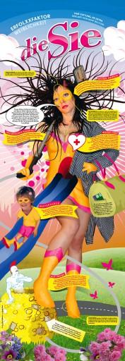 """Kleon Medugorac die """"Sie"""" und der """"Er"""" illustration poster"""