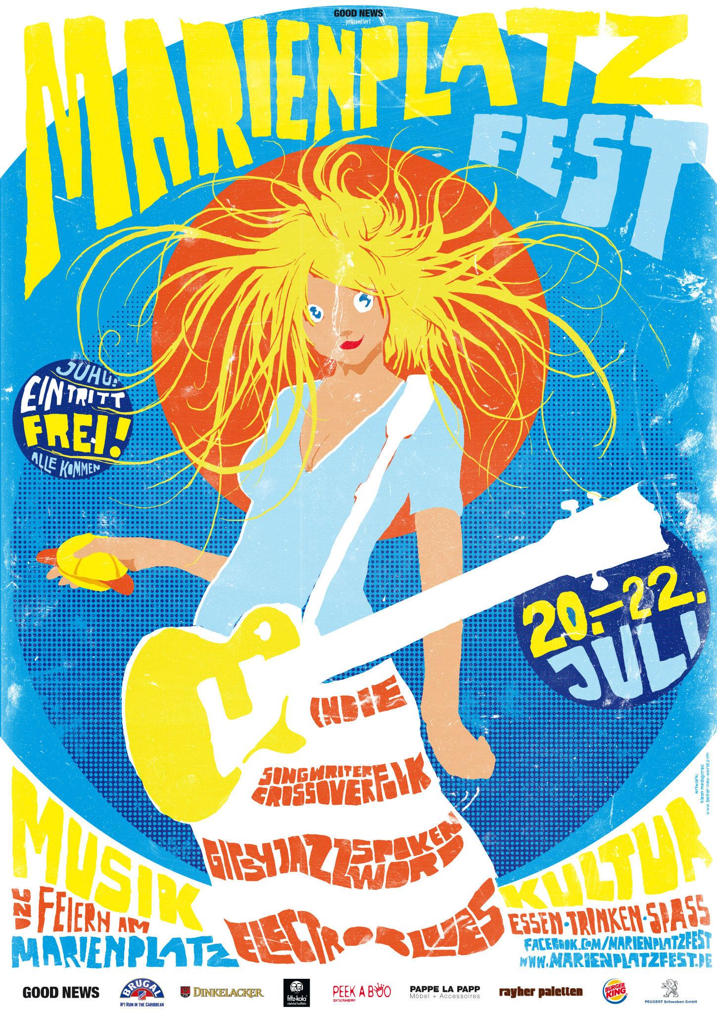 Kleon Medugorac Marienplatz Fest 2012