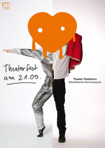 """Kleon Medugorac Theater Paderborn """"Theaterfest Posters"""""""