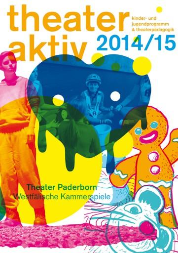 Kleon Medugorac Theater Paderborn Spielzeitheft Theaterpädagogik 2014/15 allgemein