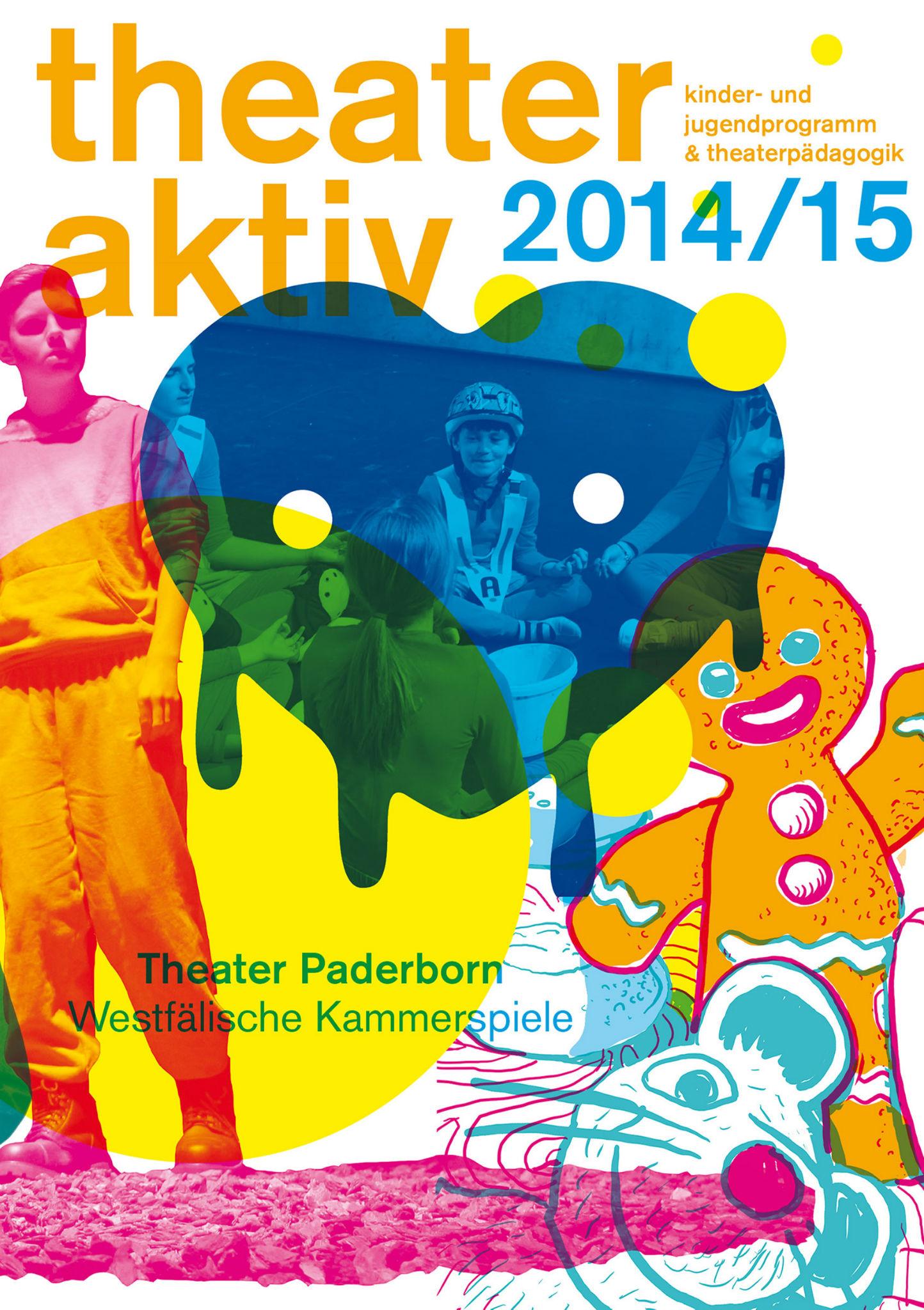 Kleon Medugorac Theater Paderborn Spielzeitheft Theaterpädagogik 2014/15