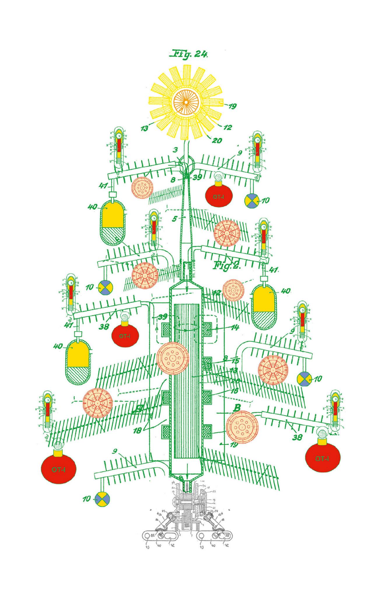 Kleon Medugorac Christmas Card Nikolai Gauss 2012