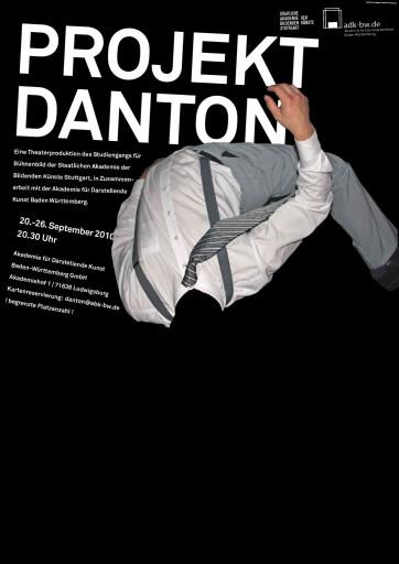 Kleon Medugorac Projekt Danton photo poster typography allgemein