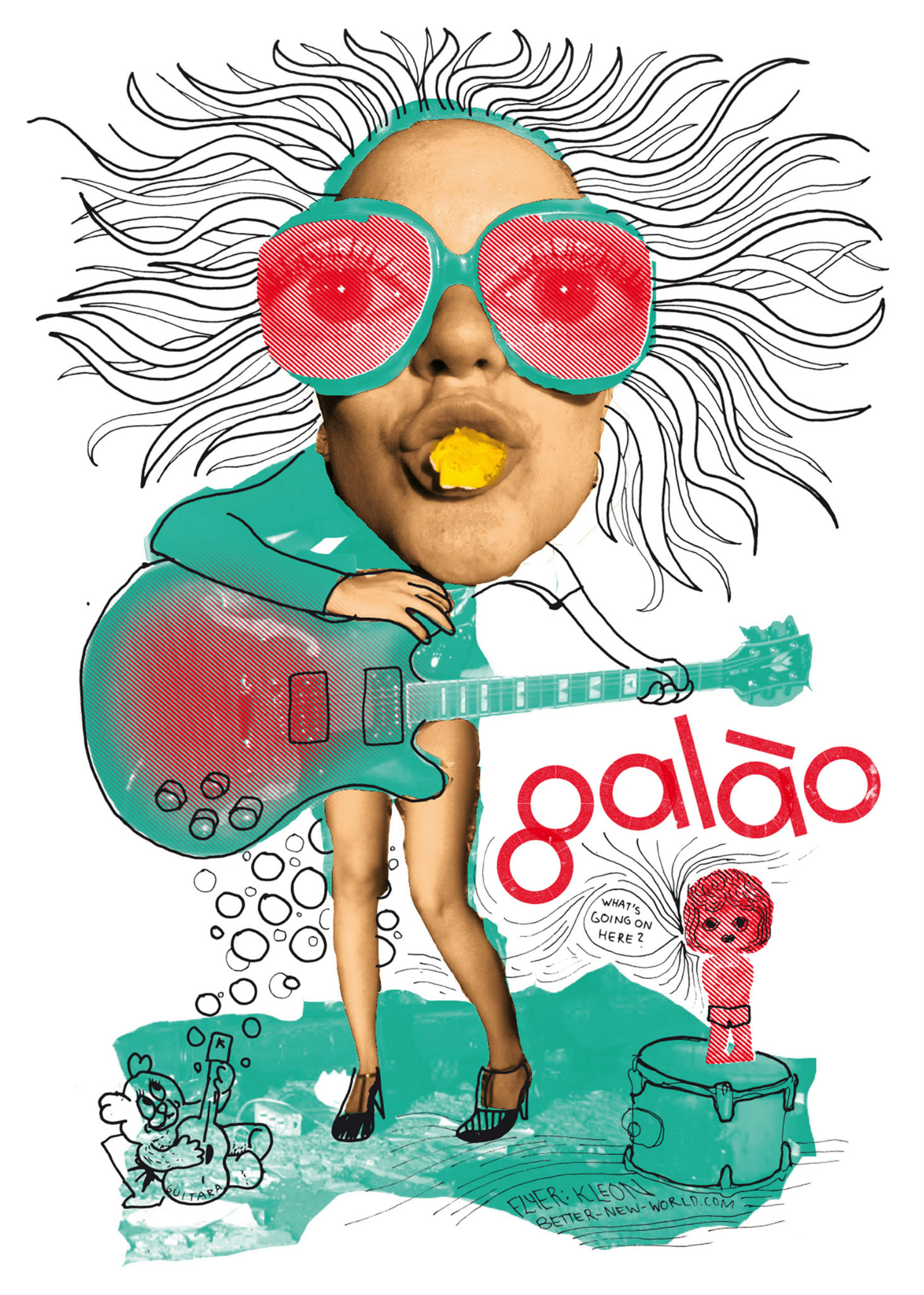 Kleon Medugorac Café Galao Flyer