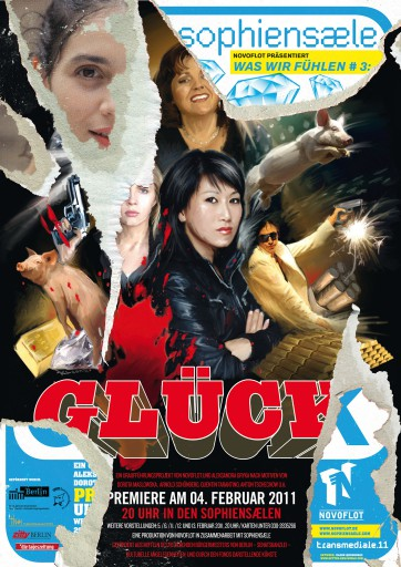 Kleon Medugorac Was wir fühlen #3: Glück illustration poster theater typography allgemein