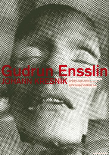 Kleon Medugorac Gudrun Ensslin poster theater allgemein