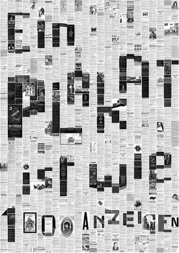 Kleon Medugorac Ein Plakat ist wie 1000 Anzeigen poster text typography allgemein