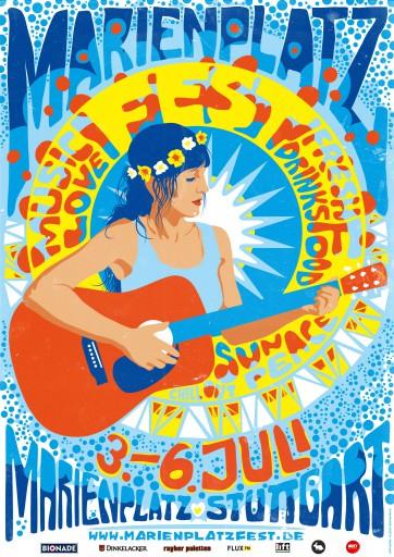 Kleon Medugorac Marienplatz Fest 2014 Poster