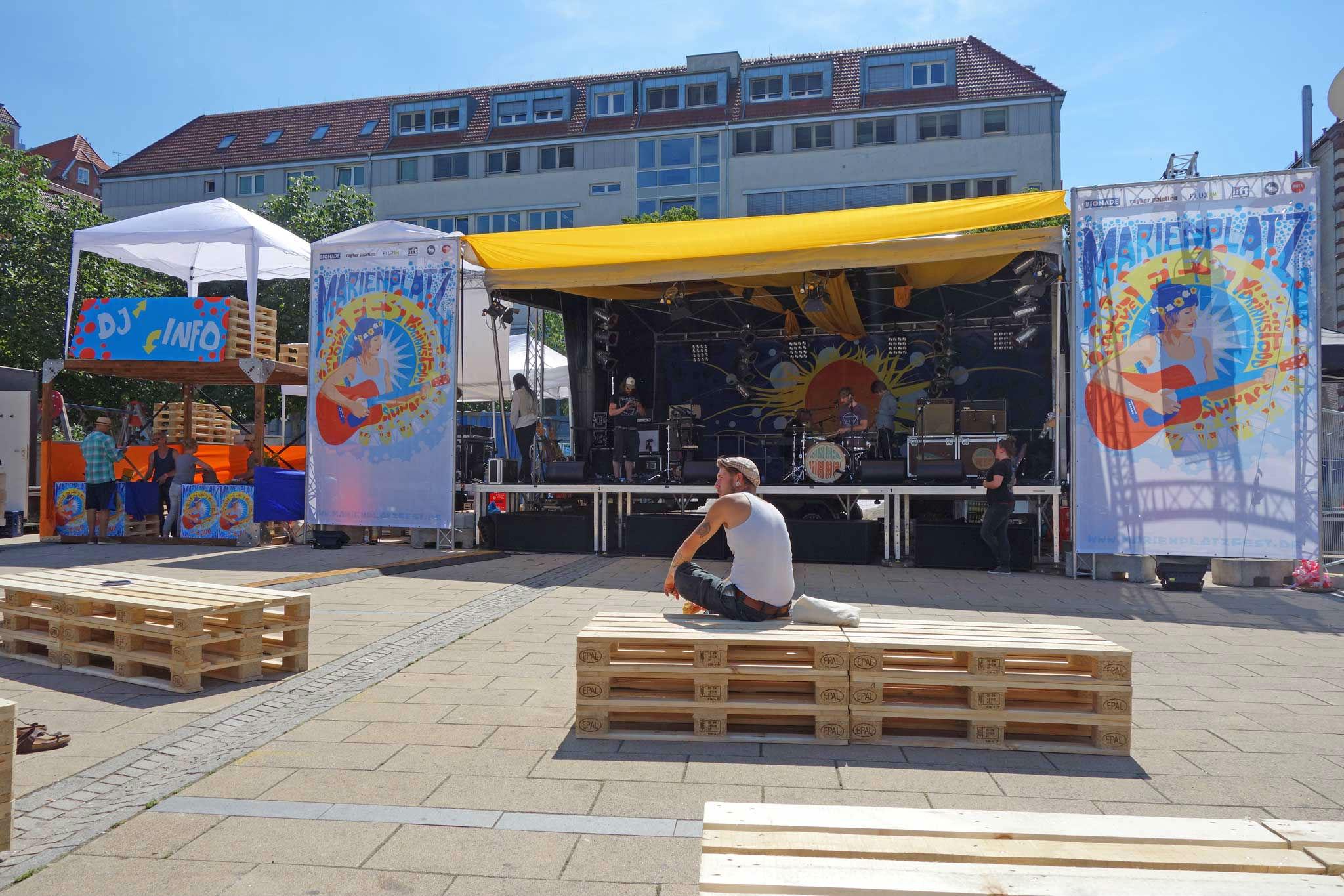 Kleon Medugorac Marienplatz Fest 2014