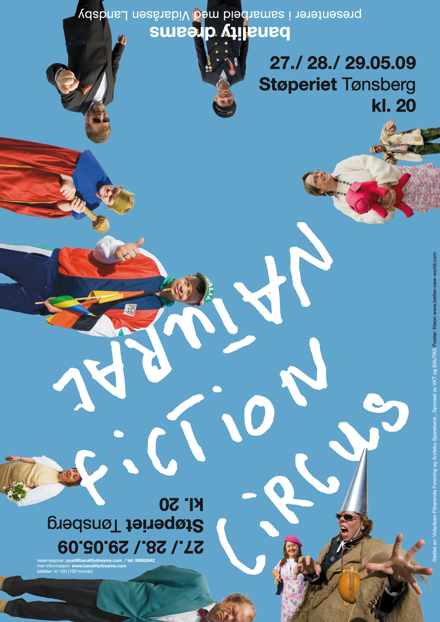Kleon Medugorac Natural Fiction Circus Poster