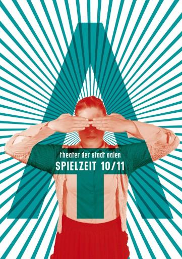 Kleon Medugorac Theater der Stadt Aalen Spielzeitheft 2010/11 magazine theater allgemein