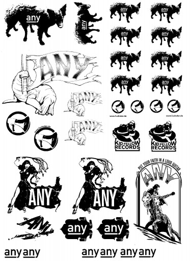 Kleon Medugorac any stickers set free-work illustration music
