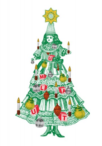 Kleon Medugorac Christmas Card Studio Umlaut 2013 illustration