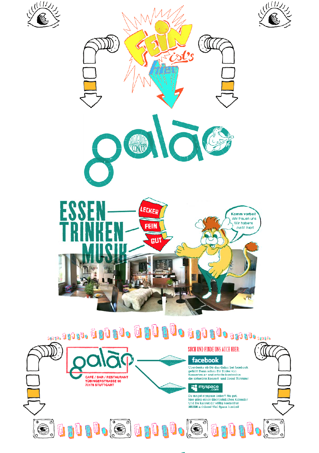 Kleon Medugorac Café Galao Homepage