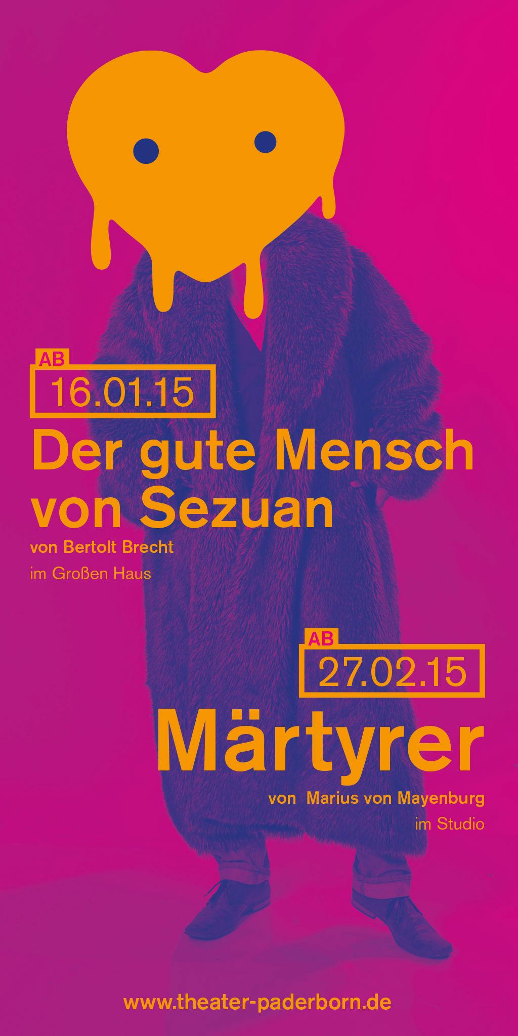 Kleon Medugorac Theater Paderborn Anzeige