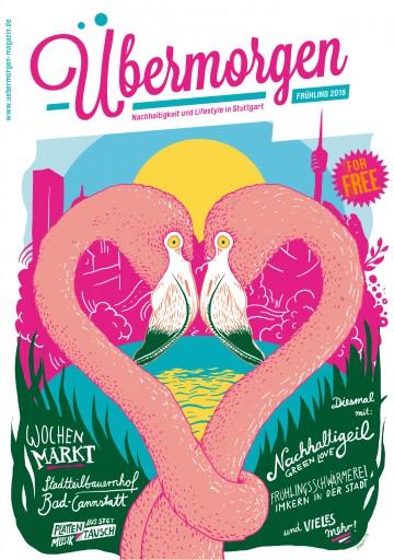 Kleon Medugorac Übermorgen #4 illustration magazine typography allgemein