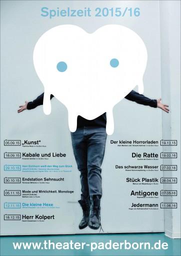 Kleon Medugorac Spielzeit 2015/16 Theater Paderborn