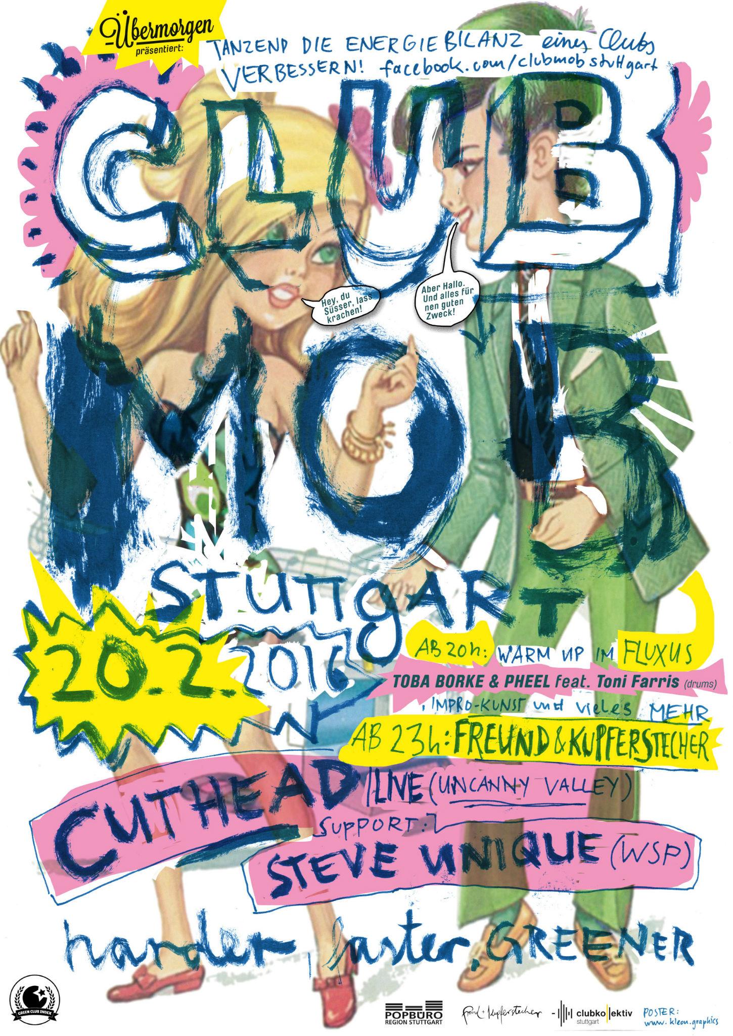 Kleon Medugorac Clubmob Poster