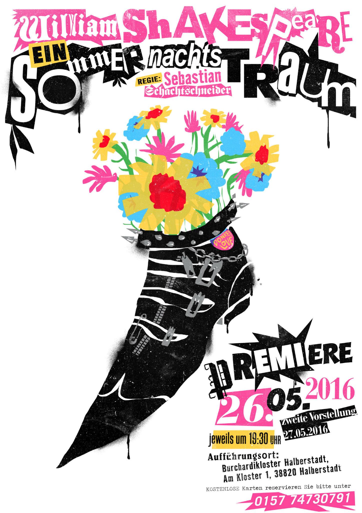 Kleon Medugorac Sommernachtstraum – Poster