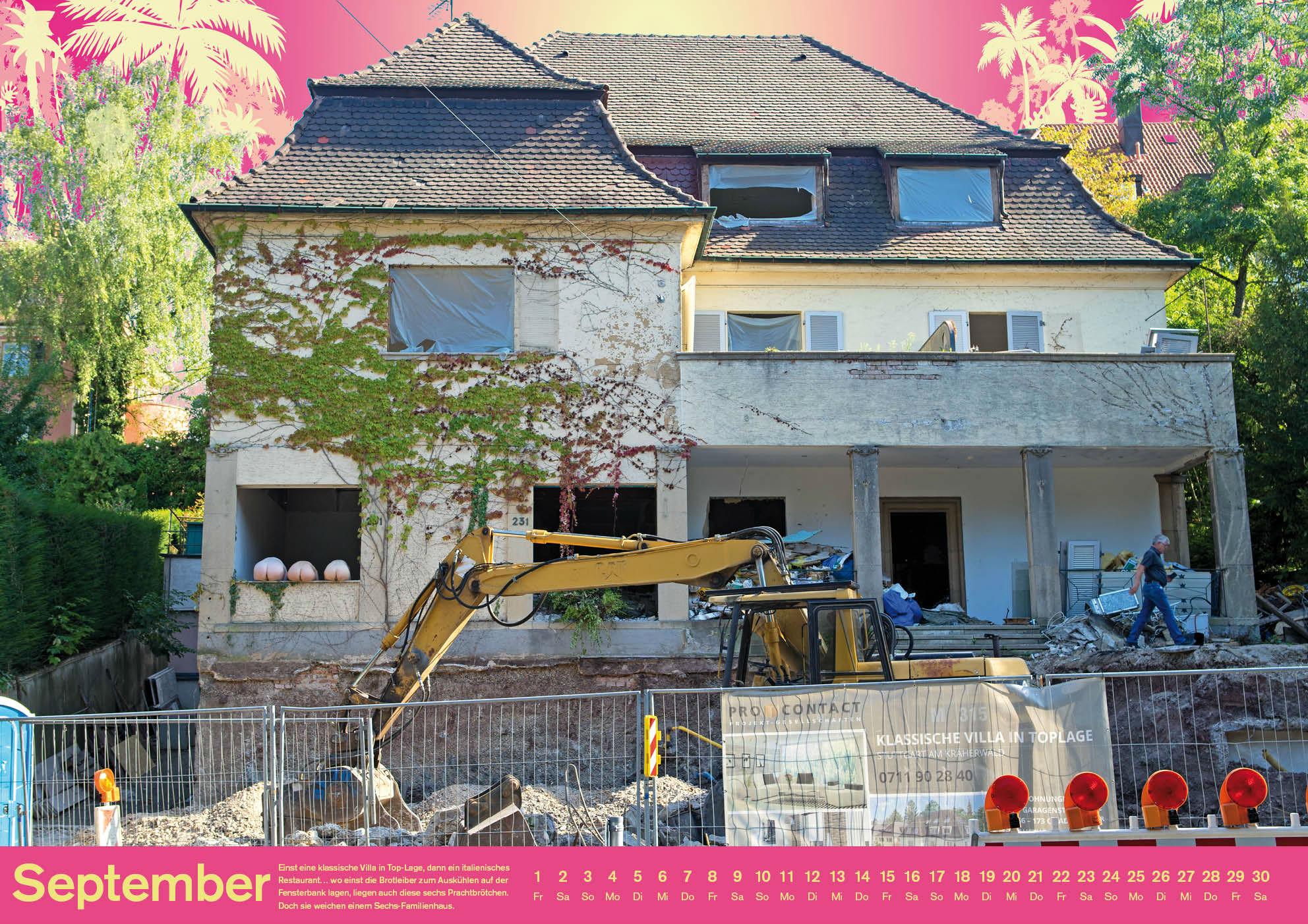 Kleon Medugorac Stuttgart under Construction 2016