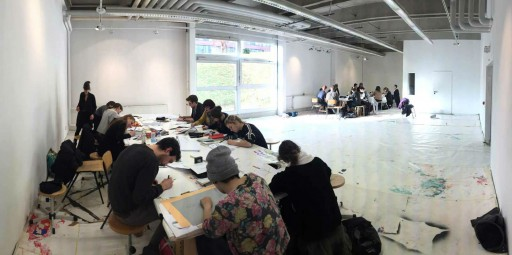 Kleon Medugorac WORKSHOP AT HOCHSCHULE DÜSSELDORF