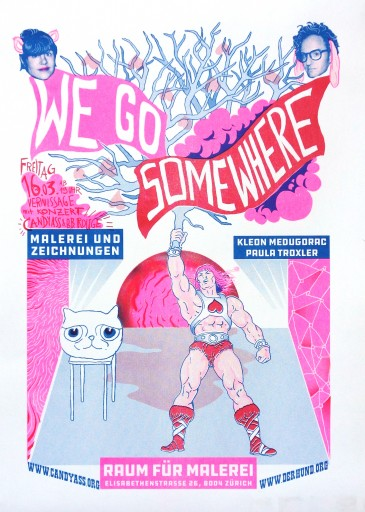 "Kleon Medugorac ""We go somewhere"" Poster free-work illustration poster"