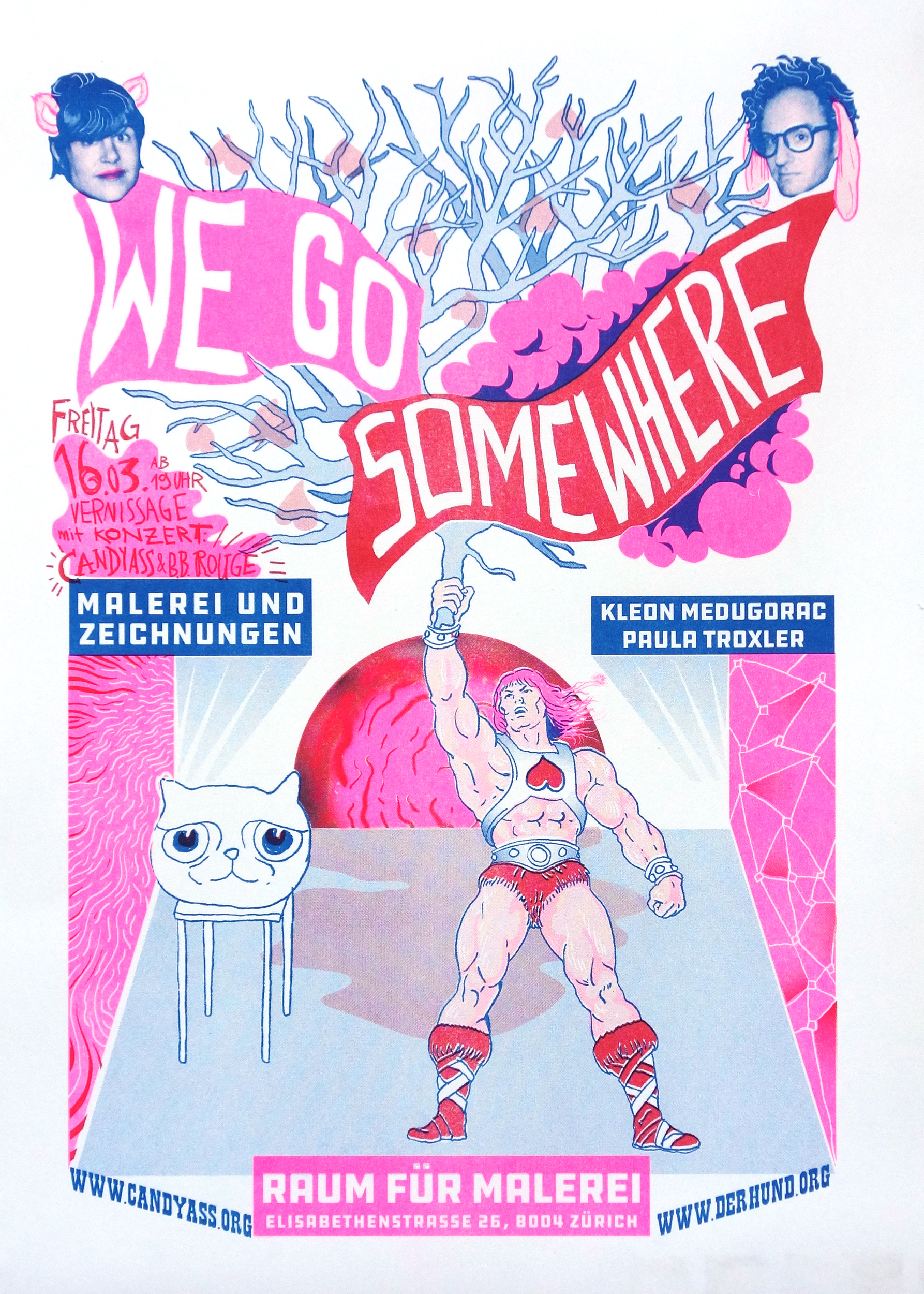 "Kleon Medugorac ""We go somewhere"" Poster"