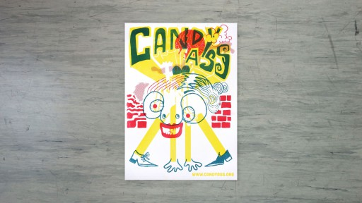 Kleon Medugorac Candyass Risograph Posters