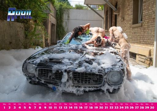 Kleon Medugorac AUTO STATT STUTTGART 2019 CALENDAR